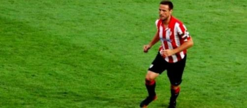 Gurpegui, Athletic de Bilbao, durante un partido
