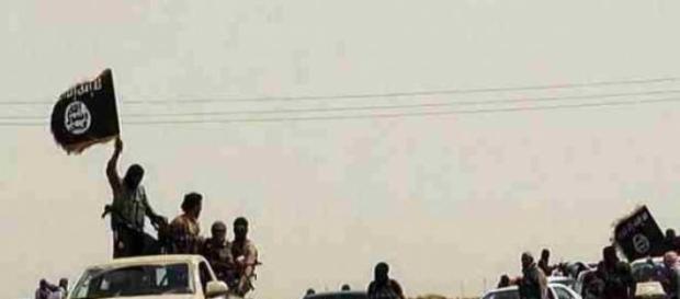 les cobamttants de Daesh en mouvement.