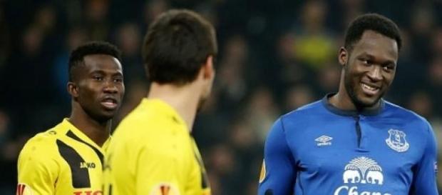 Lukaku scored his first hat-trick for Everton