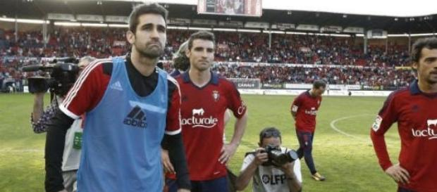 Osasuna  a retrogradat in sezonul 2013-2014
