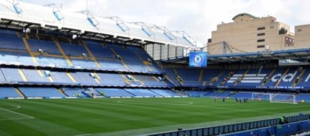 Stamford Bridge em Londres, casa do Chelsea FC