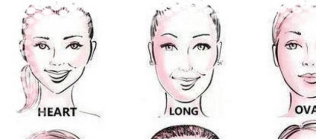 Taglio capelli per viso a punta