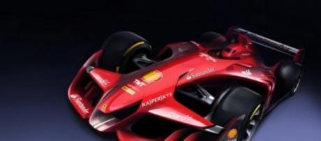 Este es el diseño presentado por Ferrari