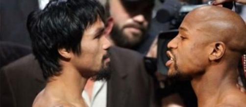 Floyd y Manny listos para subir al ring