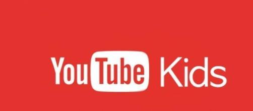 La scritta dell'atteso YouTube Kids