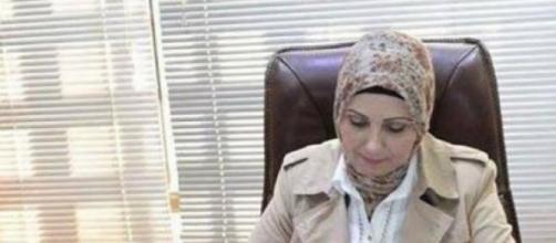 Zekra Alwach, première femme maire en Irak.