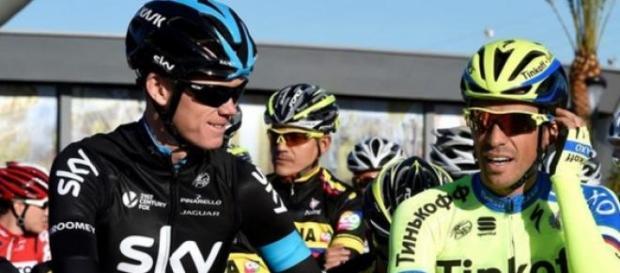 Froome-Contador : le calme avant la tempête