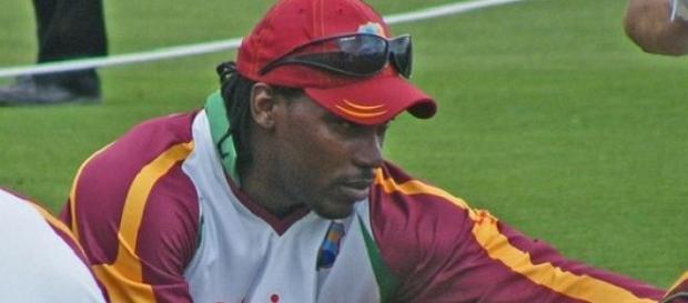 Gayle & his West Indies' teammates took the win