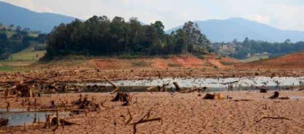 São Paulo está sofrendo com falta de água