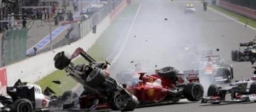 Alonso ha sufrido un grave accidente