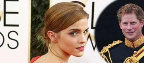 Emma Watson de novia con Harry de Inglaterra