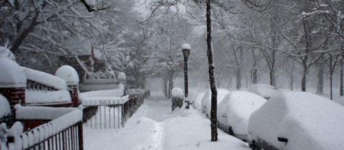 Forte frio e nevasca assolam Nova York