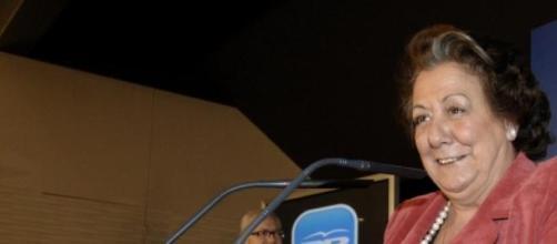María Rita Barberá, actual alcaldesa de Valencia.