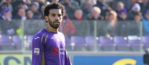 Salah, secondo gol in maglia viola