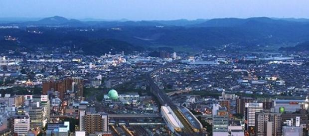 Cidade de Fukushima, no Japão