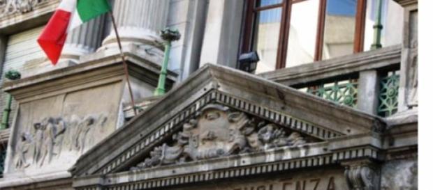 Imagen de parte de la fachada principal