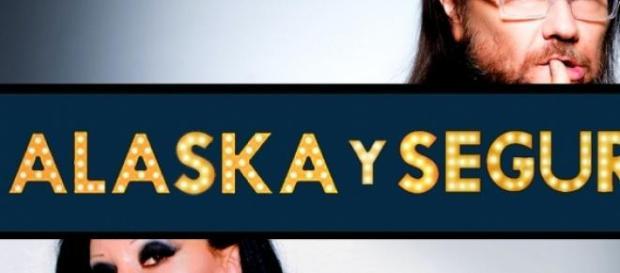 Logotipo del programa con los dos presentadores
