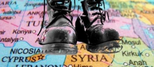 Botas militares turcas na Síria