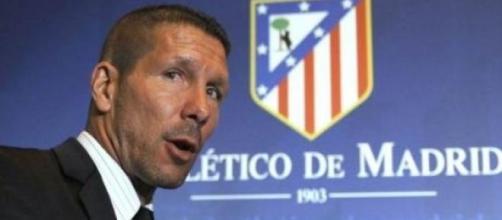 Diego Simeone, tecnico dell'Atletico Madrid