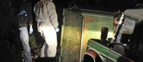 Foto do local do crime em Moimenta da Beira