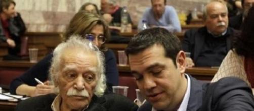 Glezos e Tsipras, prima della delusione