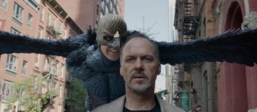Michael Keaton em 'Birdman', vencedor do Oscar.