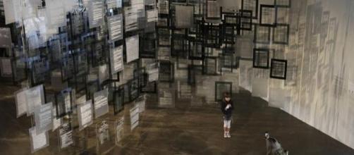 Obra de Voluspa Jarpa en la Bienal de San Pablo