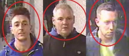 Richard Barklie (ao centro) foi identificado