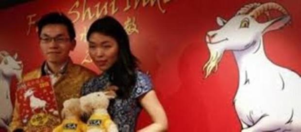 Chineses celebraram a chegada da Cabra