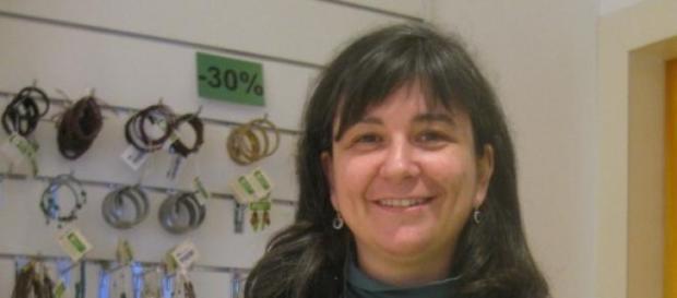 Cristina Durán, autora de 'Ondas en el río'