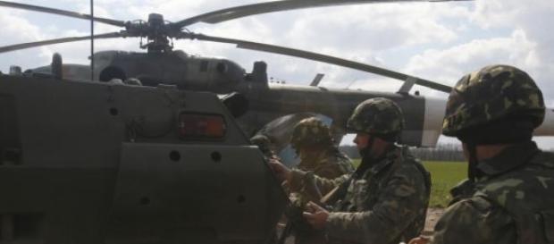 Inaramarea Ucrainei, criticata de Rusia