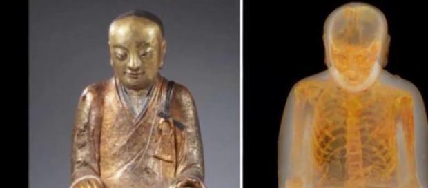 L'incredibile scoperta della statua del Buddha.