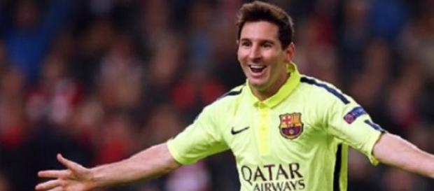 Messi apesar da boa exibição, falhou um penalti