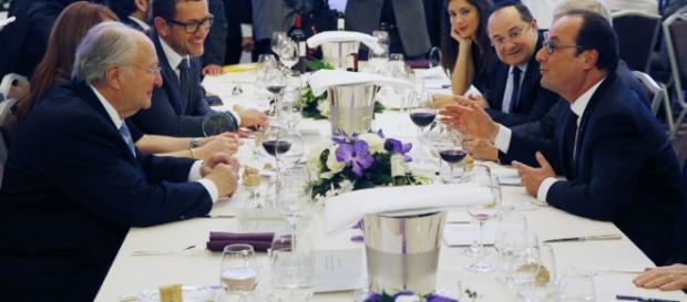 Président Hollande dîner CRIF -