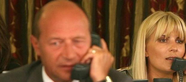 Traian Basescu si  Elena Undrea