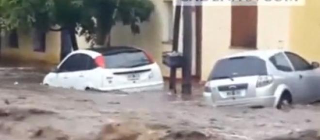 Imagen del último temporal que anegó a Córdoba