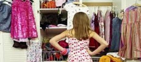 """Un closet lleno de """"No tengo que ponerme"""""""