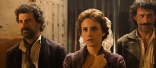 Los tres protagonistas de la serie