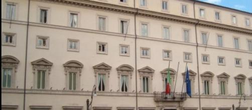 Palazzo Chigi, simbolo del parlamento italiano