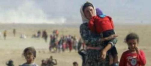 Sono donne e bambini gli ostaggi cristiani.