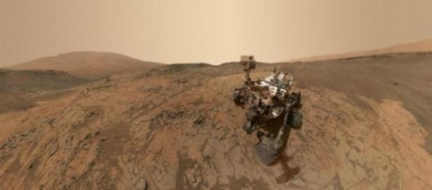 Curiosity explora diferentes zonas de Marte