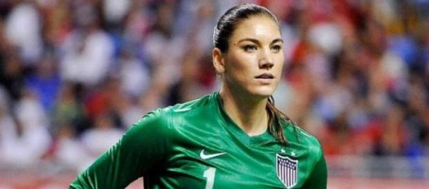 Hope Solo é a futebolista mais bonita do Mundo