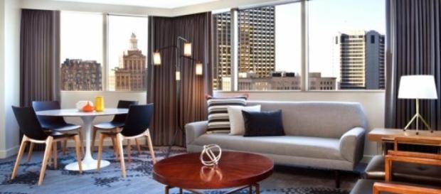 Luxury suite at Le Meridien New Orleans http://www.lemeridienneworleanshotel.com/