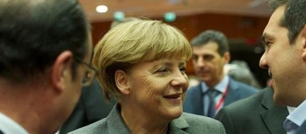 Merkel e Tsipras (European Council, Flickr)