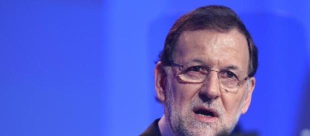 Rajoy y su polémico discurso.