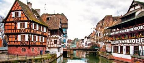 Cliché de la ville de Strasbourg
