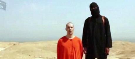 Jihadi John nel video della decapitazione di Foley