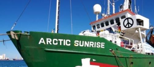 Greenpeace, toujours à la pointe de son combat.