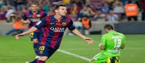 Messi e compagni attesi sabato a Granada