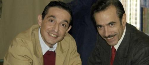 Roberto Cairo e Imanol Arias en la serie